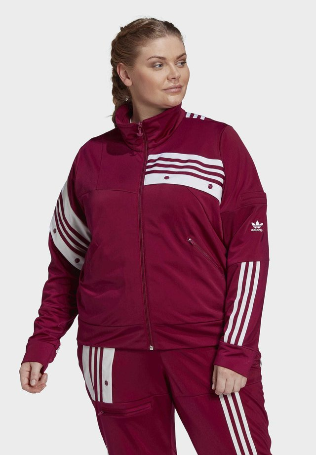 DANIËLLE CATHARI TRACK TOP (PLUS SIZE) - Veste de survêtement - purple