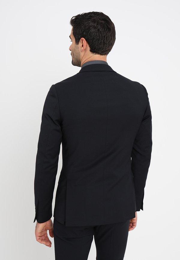 Bruun & Stengade HARDMANN SLIM FIT - Garnitur - black/czarny Odzież Męska OOLO