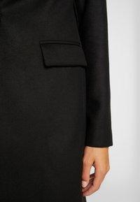 New Look - LEAD IN COAT - Kort kåpe / frakk - charcoal - 5