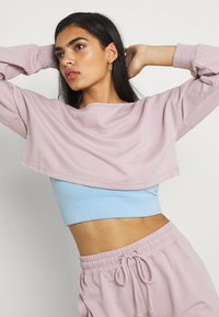 Missguided - COORD OFF THE SHOULDER SET - Tracksuit - lilac - 3