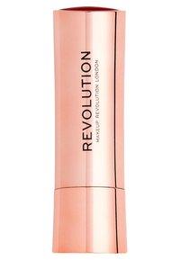 Make up Revolution - SATIN KISS LIPSTICK - Rossetto - ruby - 1