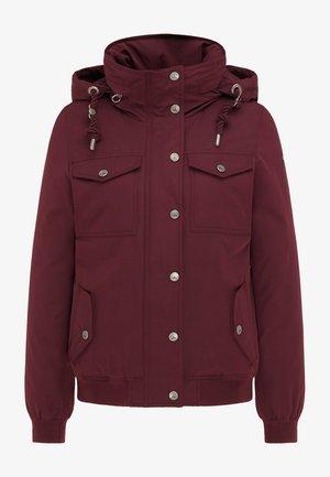 Outdoor jacket - bordeaux
