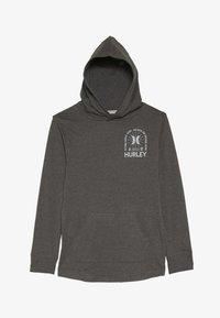 Hurley - HOOD PLAY PULLOVER - Hoodie - charcoal heather - 2