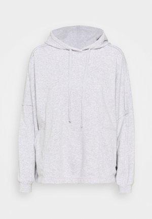 LIFESTYLE RELAXED HOODIE - Sweatshirt - grey marle