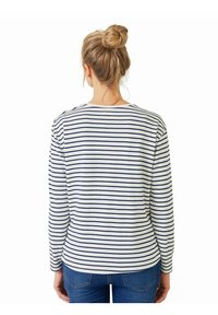 Vertbaudet - Long sleeved top - blau/weiß gestreift - 2