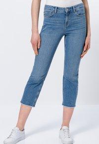 zero - Straight leg jeans - light blue stone wash - 0