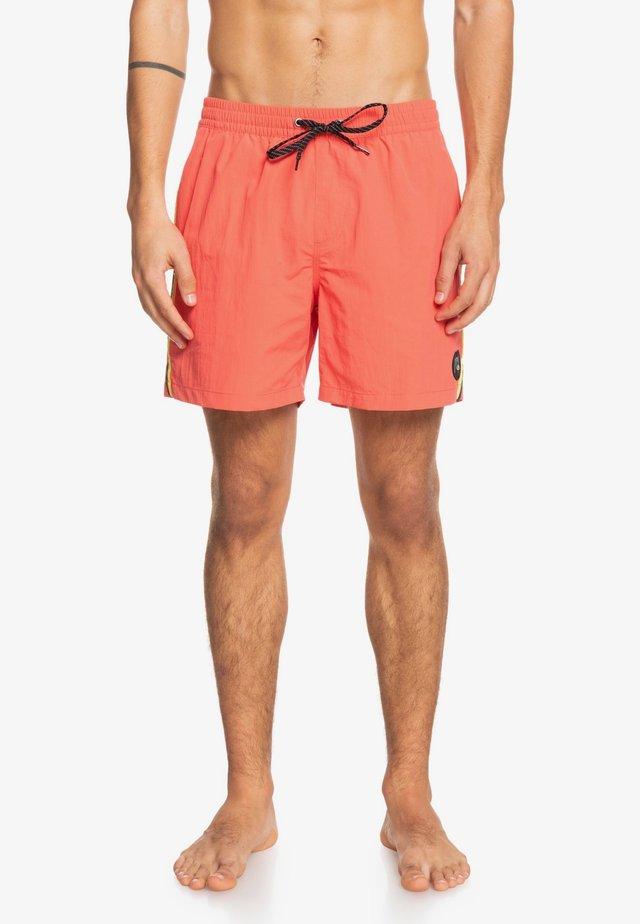 BEACH PLEASE  - Swimming shorts - deep sea coral