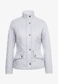 Barbour - FLYWEIGHT CAVALRY QUILT - Light jacket - ice white - 4