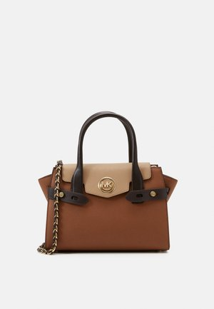 CARMENSM FLAP SATCHEL - Handbag - brown