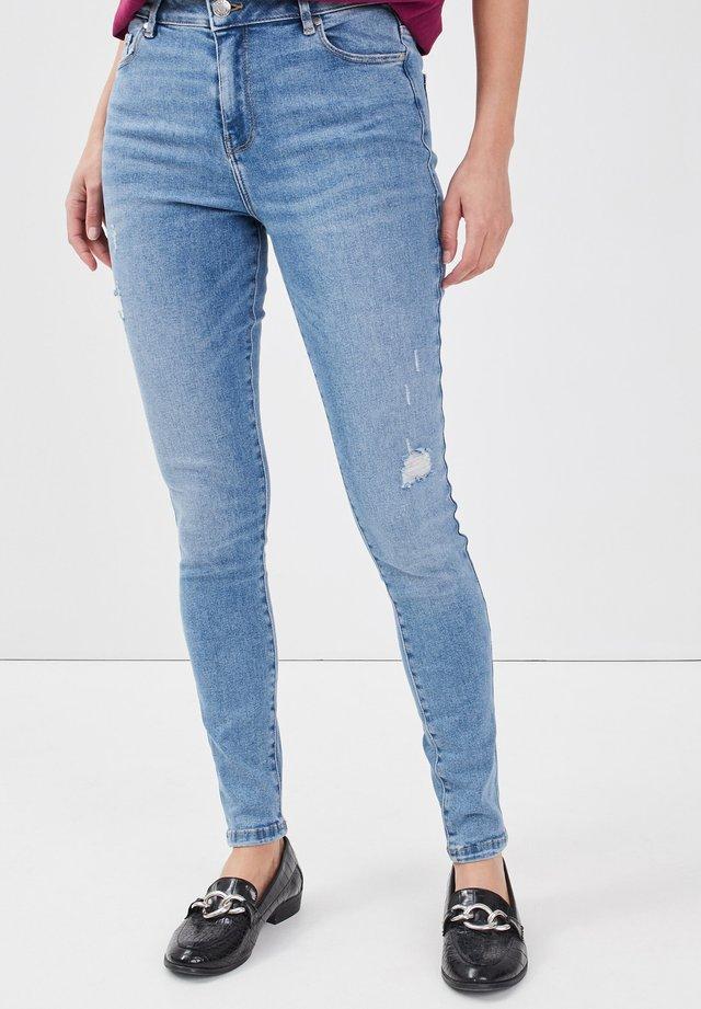 Jeans Skinny Fit - denim double stone