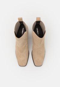 Vero Moda - VMESA BOOT - Classic ankle boots - beige - 5