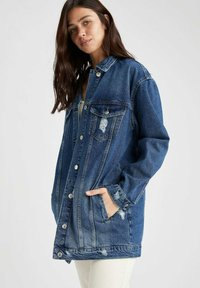 DeFacto - Denim jacket - blue - 0
