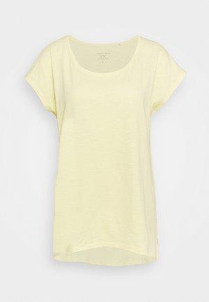 SLUB - T-shirt basic - light yellow