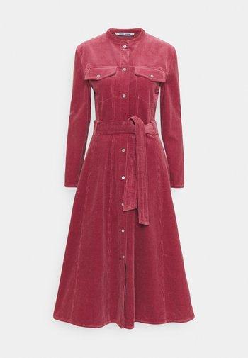 SIMONIE DRESS - Shirt dress - dark powder pink