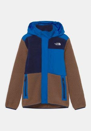 FORREST MIXED MEDIA - Fleecová bunda - pinecone brown