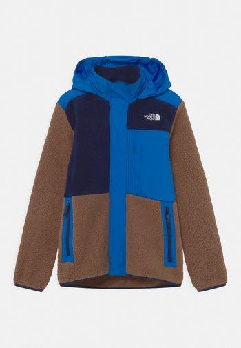FORREST MIXED MEDIA - Fleece jacket - pinecone brown
