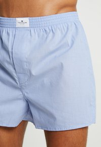 TOM TAILOR - WESTSIDE 2 PACK - Boxer shorts - hellblau - 4