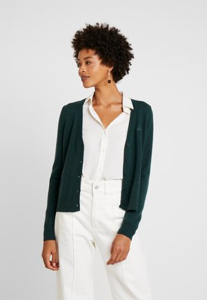 SUPERFINE - Cardigan - tartan green