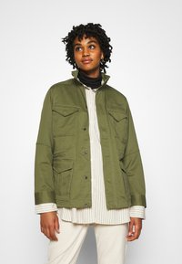 G-Star - FIELD OVERSHIRT WMN - Summer jacket - sage - 0