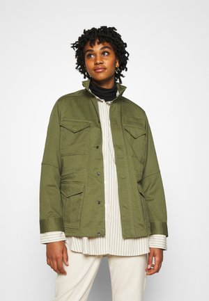 FIELD OVERSHIRT WMN - Summer jacket - sage