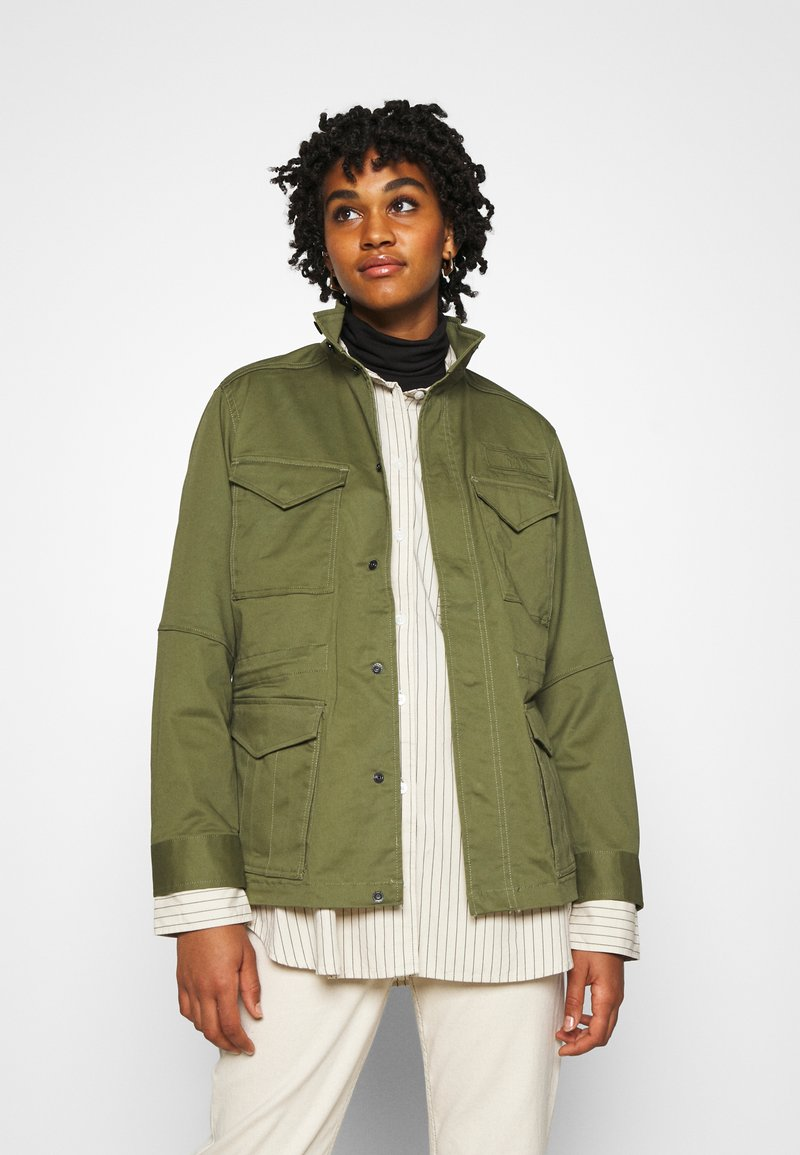 G-Star - FIELD OVERSHIRT WMN - Summer jacket - sage