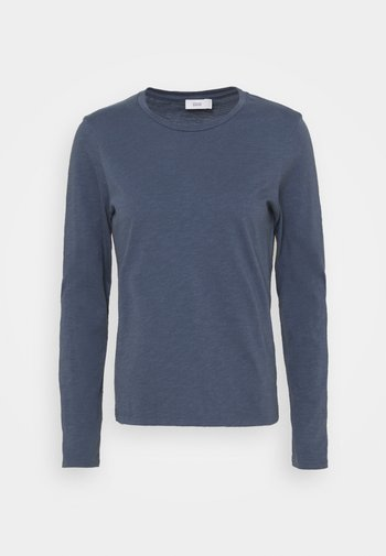 Long sleeved top - blue slate