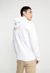 Calvin Klein - LOGO HOODIE - Sweatshirt - white - 2