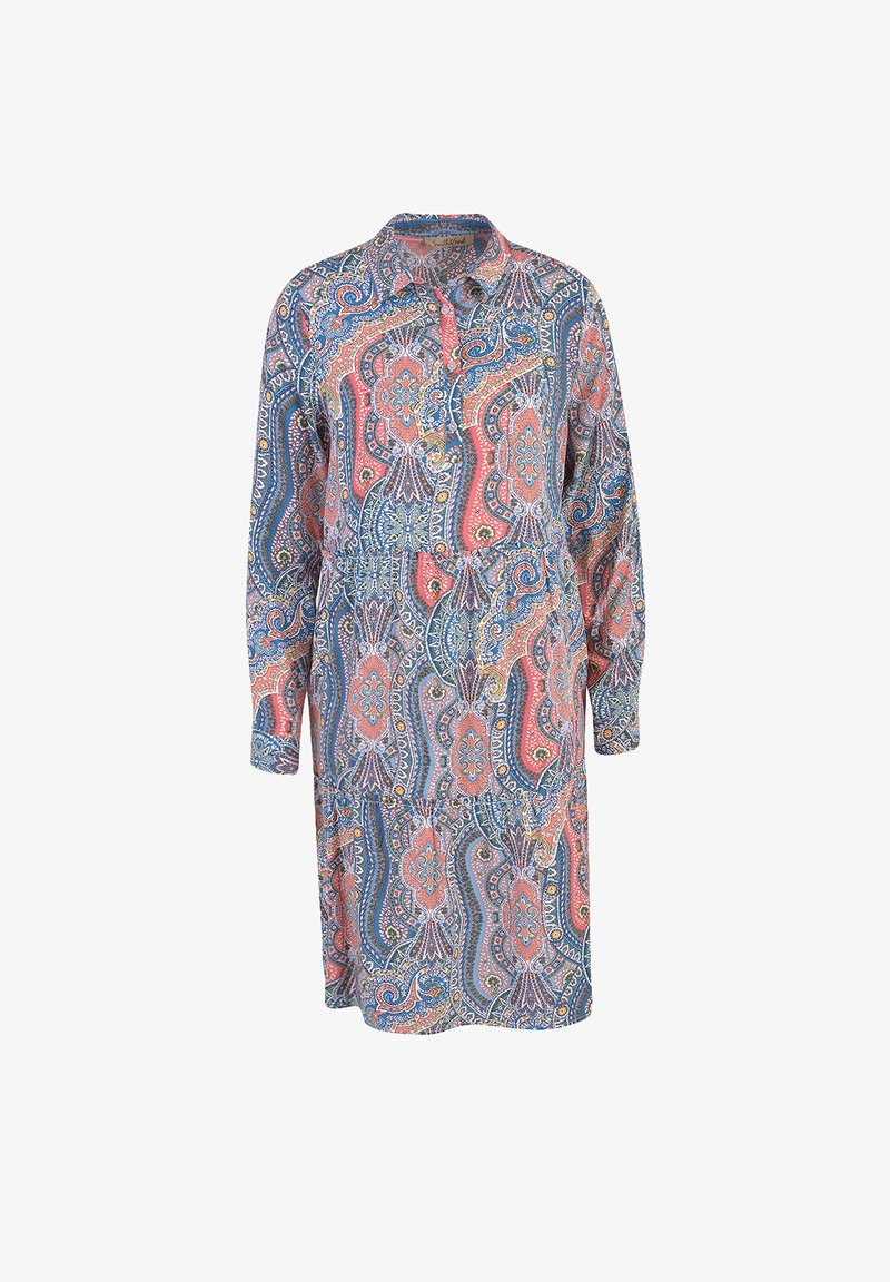 Smith&Soul - Shirt dress - aqua print