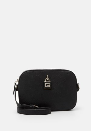 KAMRYN CROSSBODY TOP ZIP - Bandolera - black