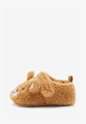 BEAR 3D PRAM  - Slippers - brown