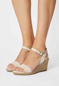 Tamaris - Wedge sandals - cream - 0