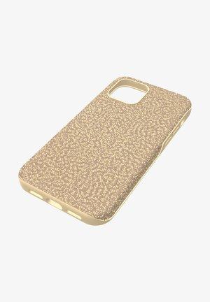 Étui à portable - gold tone