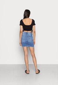 Pieces - PCAIA SKIRT - Denim skirt - light blue denim - 2