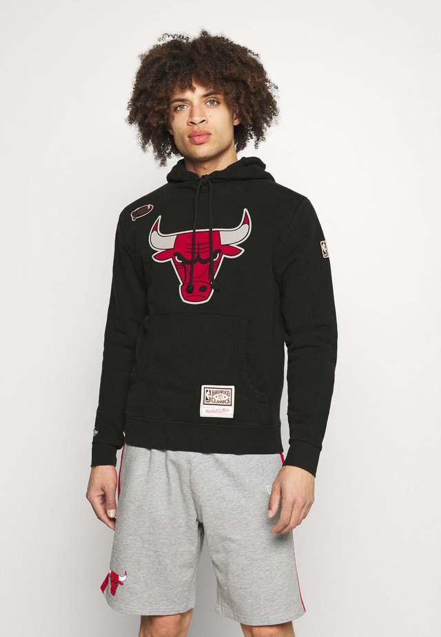 NBA CHICAGO BULLS WORN LOGO HOODY - Sweater - black