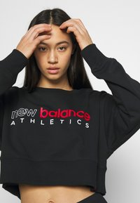 New Balance - ESSENTIALS ICON CREW - Sweatshirt - black - 3