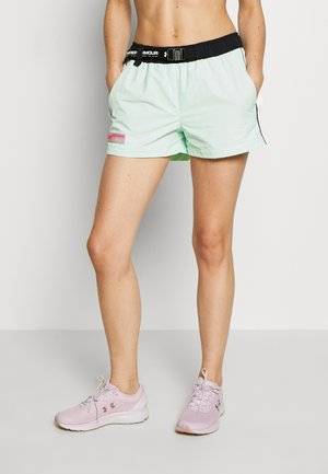 SHORT - Korte broeken - aqua foam/white/pink surge