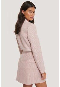 NA-KD - A-line skirt - pink/white - 3
