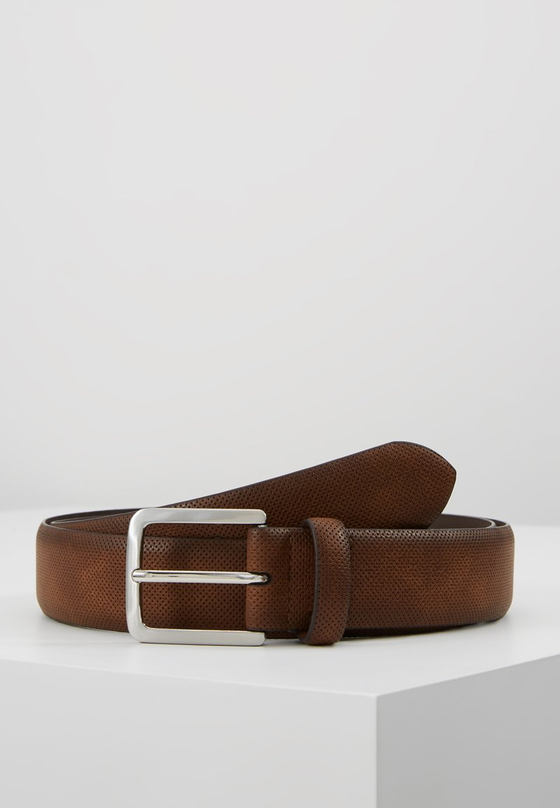 Burton Menswear London - PERFORATED  - Belt - brown