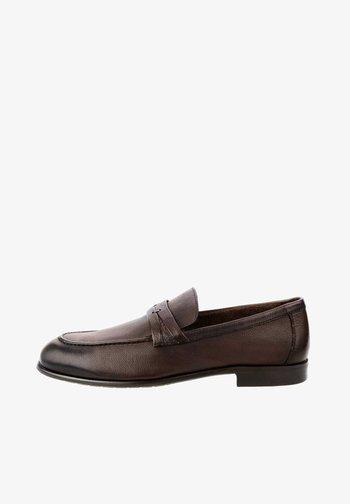 PAOLINI - Nazouvací boty - brown