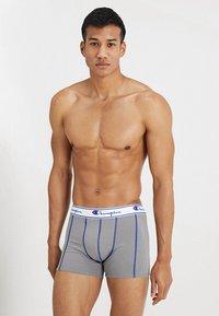 Champion - BOXER 3 PACK - Pants - black/grey/royal blue - 3