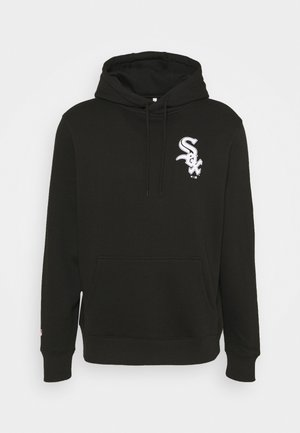 MLB CHICAGO WHITE SOX ICONIC ASSET GRAPHIC HOODIE - Club wear - black