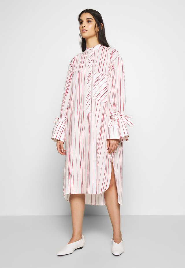 KEONA - Shirt dress - white