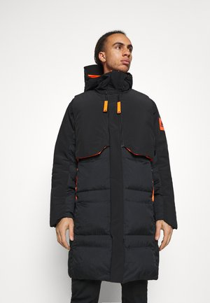 MYSHELTER URBAN COLD RDY OUTDOOR JACKET - Daunenjacke - black/orange