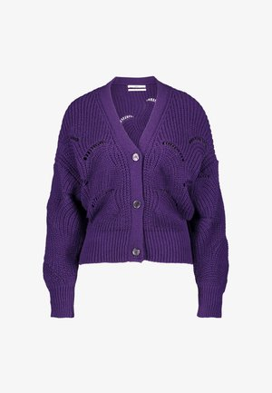 ARIA SOFT - Vest - deep purple