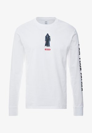 LEVI'S® X STAR WARS GRAPHIC TEE - Long sleeved top - vader black/white
