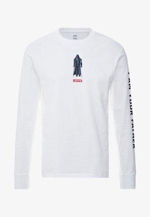 LEVI'S® X STAR WARS GRAPHIC TEE - Maglietta a manica lunga - vader black/white