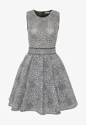 REINATTA - Day dress - gris