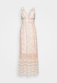 Hope & Ivy Tall - Maxi šaty - offwhite/orange - 4