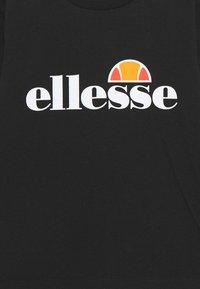 Ellesse - BENIN BABY UNISEX - Long sleeved top - black - 2