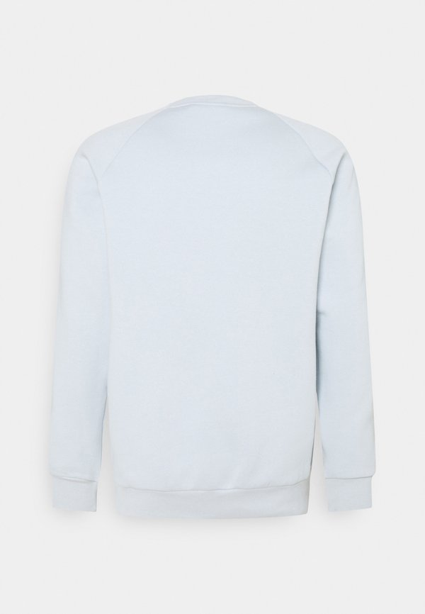 adidas Originals STRIPES CREW UNISEX - T-shirt z nadrukiem - halo blue/niebieski Odzież Męska ETZU